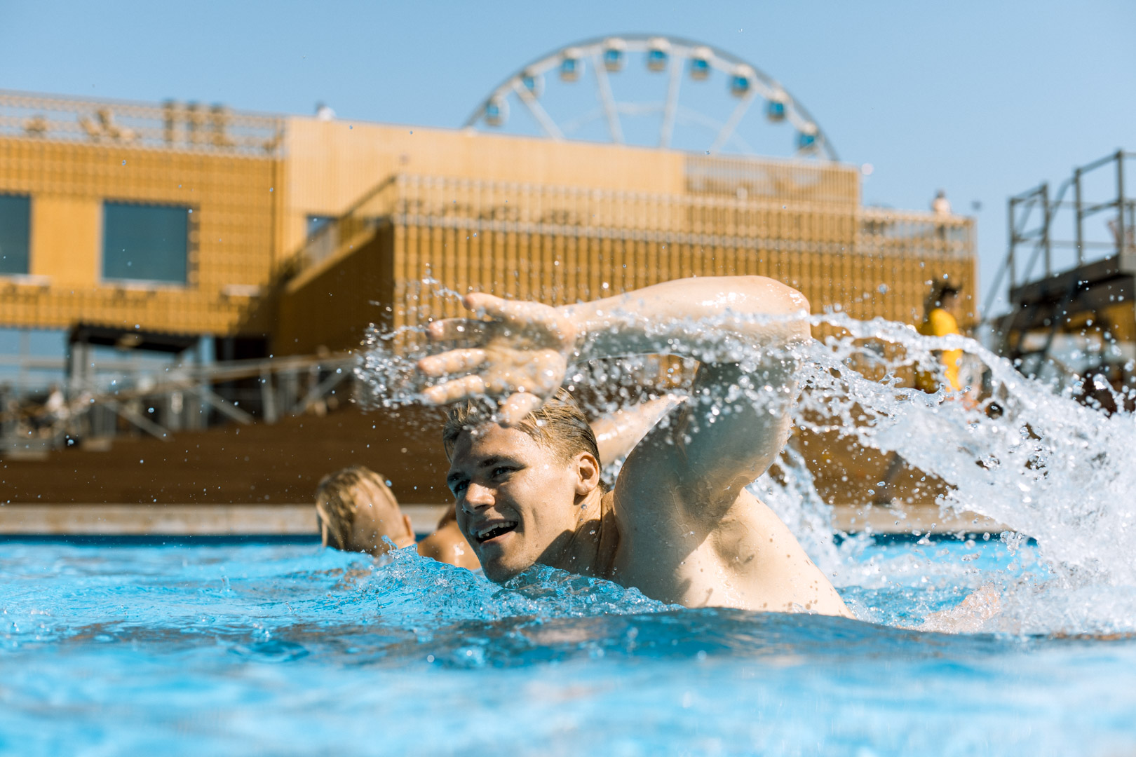 Allas sea pool brand photos by Jussi Ratilainen